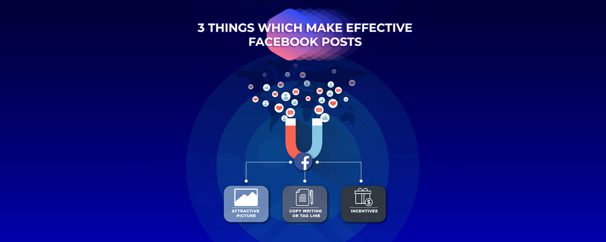 3 Things which Make <strong>Effective</strong> Facebook Posts